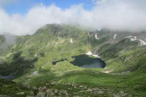 38.Fagaras mountains-Podragu lake and hut