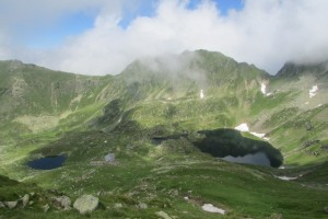 39.Fagaras mountains-Podragu lake and hut
