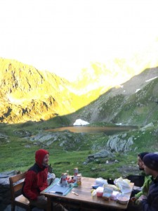 41.Fagaras mountains-Podragu lake and hut
