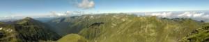 16.Fagarsh mountains-Vistea Mare peak