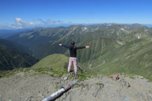 23.Fagarsh mountains-Moldoveanu peak