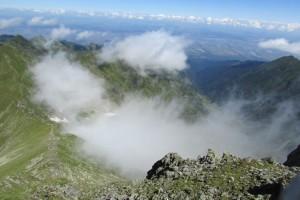 29.Fagarsh mountains-Vistea Mare peak