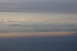 1.in the sky