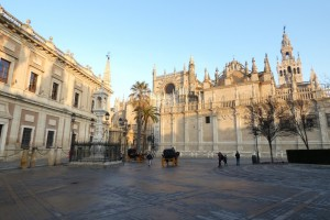 25.Sevilla-Plaza del Triunfo