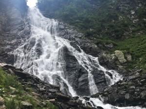 11.Balea waterfall
