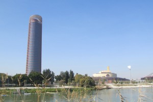 23.Seville II-Torre Cajasol and Torre Triana