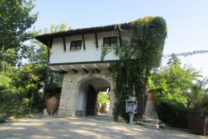 11.Botanic garden and palace Balchik-villa Arc