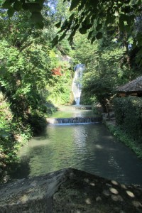 44.Botanic garden and palace Balchik-waterfall