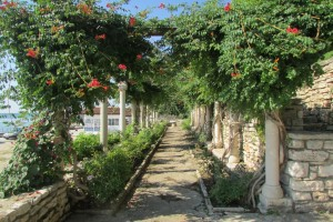 52.Botanic garden and palace Balchik-Ages alley