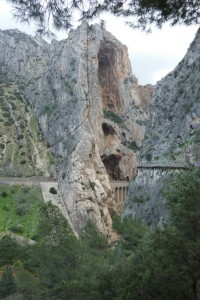 35.Caminito del Rey-Gaitanes Canyon-St Cristopher's Niches