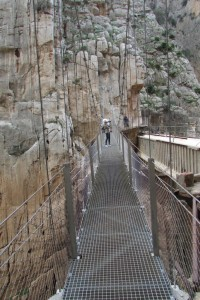 46.Caminito del Rey-Gaitanes Canyon-Hanging Footbridge