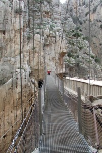 47.Caminito del Rey-Gaitanes Canyon-Hanging Footbridge