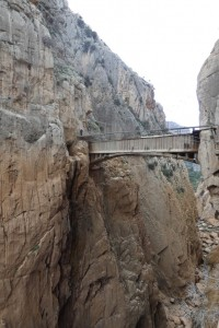 48.Caminito del Rey-Gaitanes Canyon-Aqueduct and Hanging Footbridge