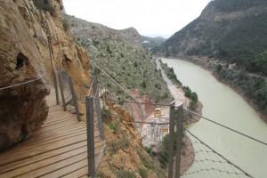 49.Caminito del Rey-Gaitanes Canyon-Southern Wall