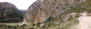 52.Caminito del Rey-Gaitanes Canyon-Southern Wall
