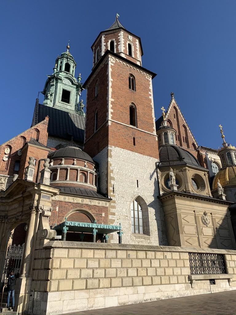 Краков замъка Zamek Królewski na Wawelu