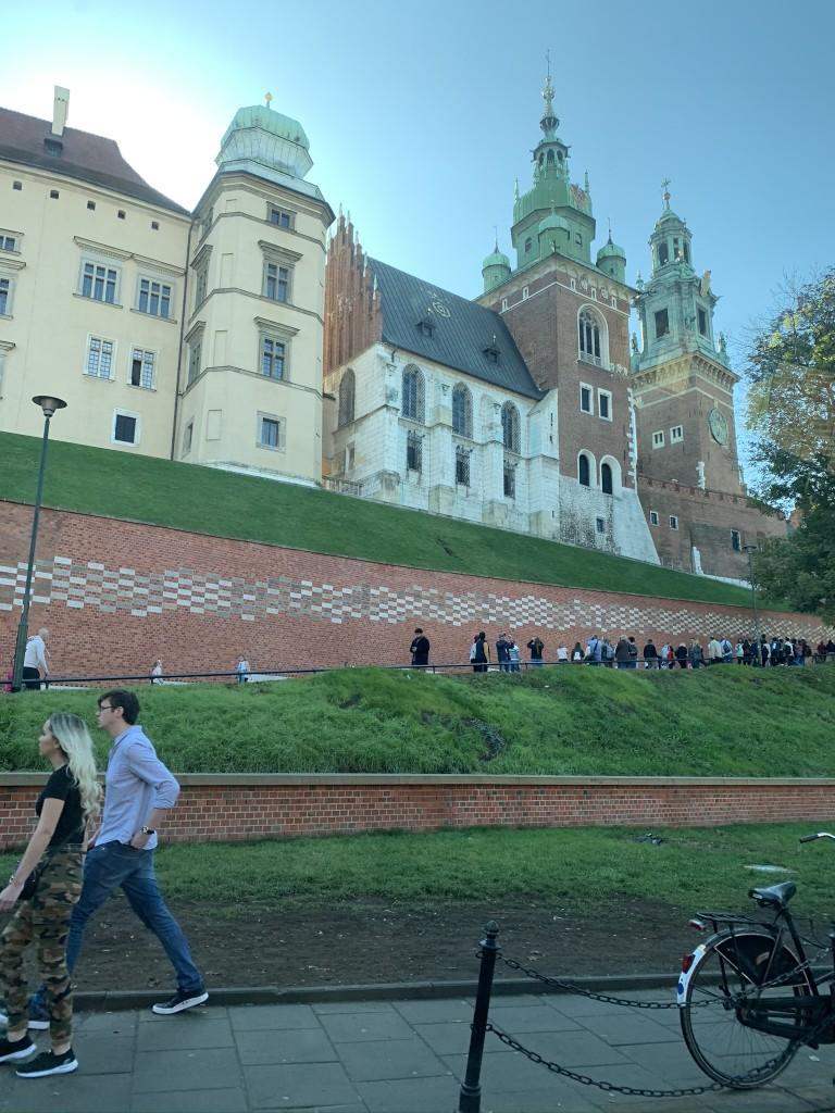 замъка Zamek Królewski na Wawelu Краков