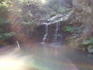 20.a little waterfall near Kardzhali