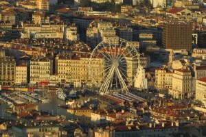 72.Marseille-view to Vieux port