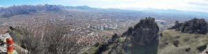 44.Prilep-Markovi kuli fortress-view to the town