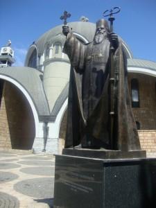 4.Skopje-St Kliment Ohridski Church-Monument