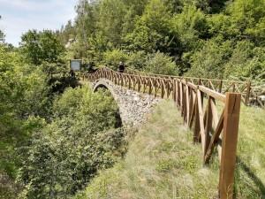 21.Lyubcha village-sport path-Roman bridge