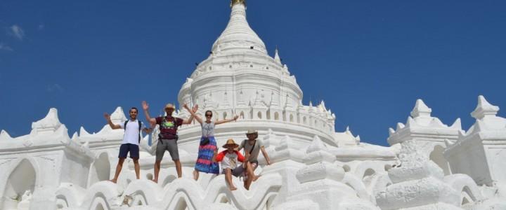 Мианмар – разходка до Мингун и Амарапура